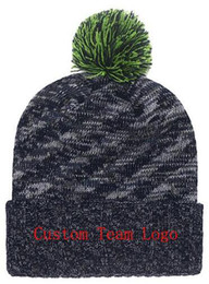 d30e3956aa1e48 Chinese 2019 Autumn Winter hat men women Sports Hats Custom Knitted Cap  Sideline Cold Weather Knit