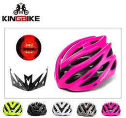 Viseira rosa on-line-Capacete de Ciclismo mulher Pink Mountain / Capacetes de Bicicleta de Estrada Integralmente-Moldado Capacete de Bicicleta Luz Sun Visor Capacete Capacetes Ciclismo