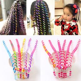 hair braiding tools 2018 - 2018 New Children's Braided Hair Braided Hair Accessories Girls Curly Hair Tools Twist Braids Little Girl