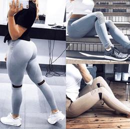 1fb96bfcc cintas femininas Desconto 2018 Novo Cintura Do Joelho Cintura de Malha de  Splicing Cintura Alta Leggings