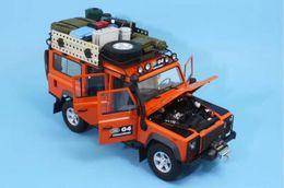 2020 coche dragón de metal Modelo de coche Diecast Century Dragon Range Rover G4 1:18 (naranja) + ¡REGALO PEQUEÑO! coche dragón de metal baratos