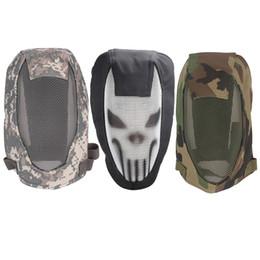 airsoft halbmasken Rabatt Half Face Metall Mesh Taktische Maske Sport Helm Außenaufnahmen Schutz Jagd Paintball Streik Airsoft Fechten Masken
