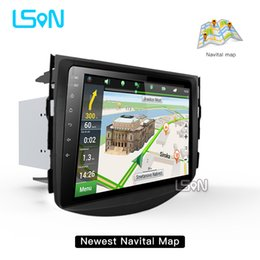 Wholesale toyota car navigation dvd - LSON 2g+32g Android 8.0 Car Dvd For Toyota Rav4 2007 2008 2009 2010 2011 Radio Stereo Gps Navigation With Steering Wheel
