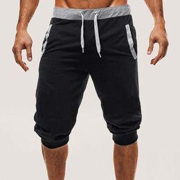 e207a9457700 Slacks Soft Trousers Jogger Slim Short Sport Running Shorts 2018 Hot Summer  New Men Baggy