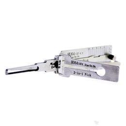 Argentina Lishi HU64 2 en 1 para Benz para Mercedes-Benz Lock Pick Tool para herramientas de auto cerrajería cheap tools for mercedes benz Suministro