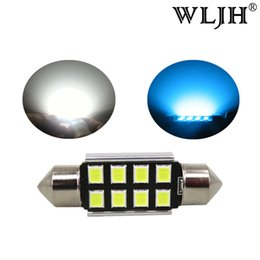 Wholesale volkswagen beetle cars - WLJH CANbus 36mm LED C5W 6418 Led Bulbs Auto Car Styling Interior Lamp Light for Volkswagen Beetle Golf Jetta Tiguan Passat