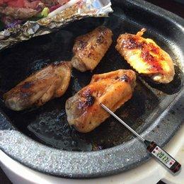 Alta calidad Digital Grilling Food Thermometer Outdoor BBQ Termómetro Accesorios de cocina Color negro y fácil de operar desde fabricantes