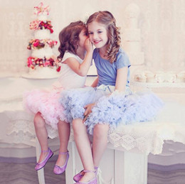 Wholesale Dresse For Girls - Hot Fashion Kids Dresses Little Girl Tutu Skirt Flower Girl Dresses Princess Tulle Party Dance Skirts For Wedding Guest Party dresse Cheap