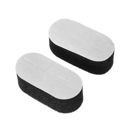Esponjas para fone de ouvido on-line-Substituição EY 1 par de esponja com alça almofada de espuma almofadas para Porta Headset
