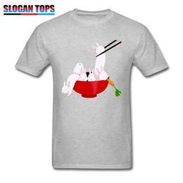 Kawaii Lapin T-shirt Imprimer Pour Hommes Gris Tshirt Brand New Coton T-shirts Japon Chic Tops Drôle De Bande Dessinée Tees Cadeau De Pâques ? partir de fabricateur