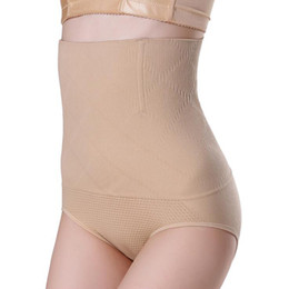 Argentina De cintura alta posparto Panty sin fisuras para mujer de Control cuerpo de la panza talladora que adelgaza la ropa interior Calzoncillos Abdomen 100pcs de DHL Suministro