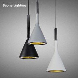 Aplomb suspension Béton Luminaire suspendu Éclairage Paolo Lucidi Matériau de ciment lampe LED gris blanc café béton Suspension Lampe Drop Lamp ? partir de fabricateur
