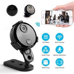 Canada HD 1080 P Mini Caméra IP Wifi Infrarouge Vision Nocturne Micro Caméscope Réseau Enregistrement Vidéo Voix Voiture DV pour iPhone / Android Cam Offre