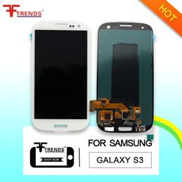 Оригинальный ЖК-дисплей для Samsung Galaxy S3 i9300 i9305 L710 R530 i535 T999 i747 дисплей с сенсорным экраном планшета полная сборка бесплатная доставка от Поставщики дигитайзер с сенсорным экраном s3