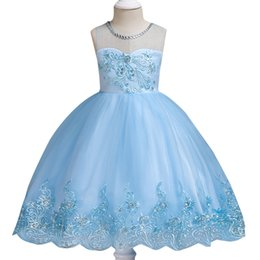 flower Girl Ball gown Dress Child Dress Girl Christmas Party Princess Girl  Clothes 2-12 Years Birthday Dress children clothing 774260057214