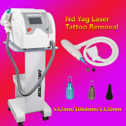 Wholesale Usa Portables - 2018 The Latest Portable new laser for tattoo removal q switched nd yag machine USA imported laser lamp beauty equipment
