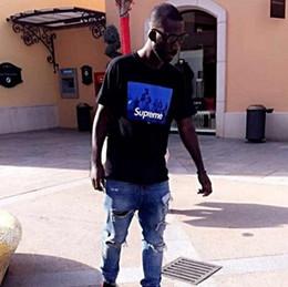 Wholesale fashion tshirts - New Fashion Designer Tshirts Men Women Brand Sup Print Hip Hop Big Plus Size Casual O Neck Short Sleeve Summer Tops
