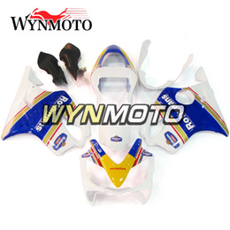 Motocicleta BodyKits Inyección de ABS Rothmans Carrocería para Honda CBR600F4i Año 2001 2003 01-03 Kit de carenado completo Kit de carrocería desde fabricantes