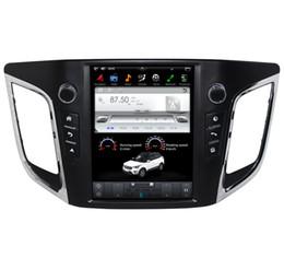 """Lecteur multimédia hyundai en Ligne-10.4 """"écran vertical Android 7.1 lecteur multimédia de voiture GPS navigation pour Hyundai IX25 2014-2016 avec radio BT stéréo aucun DVD de voiture"""