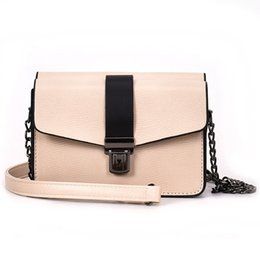 Wholesale Fire Plains - 4 colours Summer small bag female 2018 new ins super fire new chic little bread joker color chain inclined shoulder bag