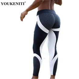 846f964d13248 YOUKENITI 2018 Brand New Sexy Hip Slim Women Leggings For GYM High Elastic  Mesh Pattern Print Leggings Yoga Pant Women