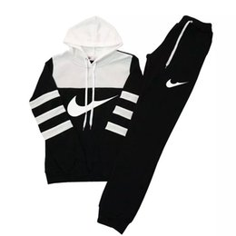 Sweatshirts à capuche + pantalons 2PC, vêtements de sport femme en gros et au détail, vêtements de survêtement, costume de couleur hit Sweat-shirts femme ? partir de fabricateur