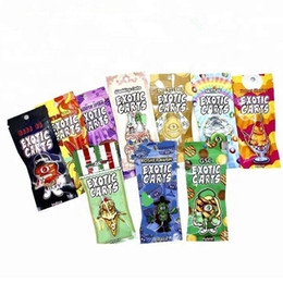 100x Flavors Exotic Carts Zip lock bag Only