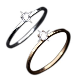 Wholesale Bridal Jewelry Sets Korean - Simple Korean Woman Lady Finger Ring Stainless Steel Wedding Bridal Crystal Rings Jewelry Valentine Day Gift M8694