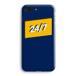 iphone 24 Promo Codes - Original Simple 7* 24 Character Phone Case For iphone 6 6s 7 8 Plus X