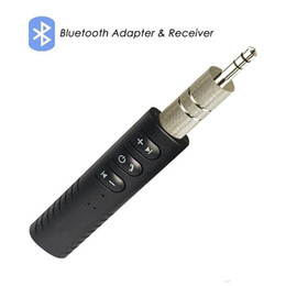 receptor livre Desconto Universal 3.5mm jack Bluetooth Car Kit Mãos Livres Receptor de Áudio e Música Adaptador AUX Kit Auto para Speaker Headphone Car Stereo