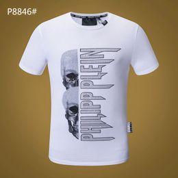 33366eb2a363bd Männer Hip Hop Lustige T-Shirt   1673 PP Sommermode Streetwear Schädel Druck  Kurzarm T-shirt Männlich Oansatz Beiläufige Pullover Sport Tops T-shirt