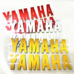 Wholesale yamaha r6 carbon fiber - 16cm*4cm Motorcycle car stickers carbon fiber decorative stickers fit for yamaha YZF R1 R1M YZF R6 MT-10 MT-01