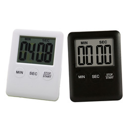 Wholesale Magnetic Countdown Timer - High Quality Electronic Digital LCD Magnetic Countdown Timer Count Down Egg Kitchen 99 Minute