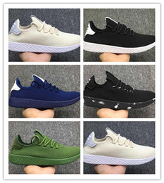 7d714599c1e23 2018 New Pharrell Williams x Stan Smith Tennis HU Primeknit hommes femmes  Chaussures de course Sneaker Tubular Shadow Runner chaussures de sport EUR  36-44