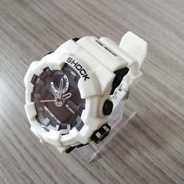 Wholesale Watch Mens G Shock - 2018 Mens Summer G Sports GA710 Watches LED Waterproof Climbing Digital S Shock Men Watch Tin Box Drop Shipping