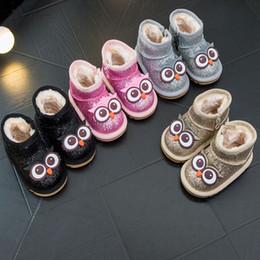 Chaussures bébé d'hiver, bébés bébés âgés de 1 à 3 ans et belles bottes de neige pour filles ? partir de fabricateur