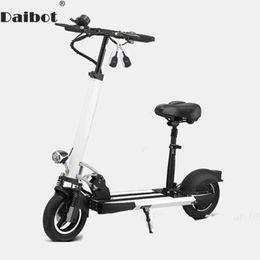 Canada Scooter électrique de coup-de-pied de Daibot avec le siège pour le vélo électrique se pliant portatif de scooters électriques de roue à deux roues des adultes 400W 36V / 48V pliable Offre