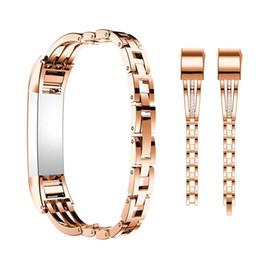 Для Fitbit Alta Bands,старинные нержавеющей металлические полосы с горный хрусталь регулируемый браслет ювелирных изделий ремешок для Fitbit Alta/Alta HR от