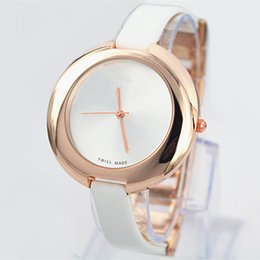 Wholesale Noble Steel - 2018 noble female quartz Watch Women Leather Dress Luxury Watch special style Famous brand Lady clock leisure classic Wristatch High quality