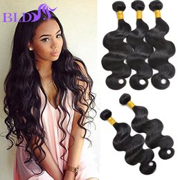 Wholesale Virgin Hair Weave Sale - Hot Sale 100% Remy Human Hair Weave Vendors Raw Indian Hair Bundles Grade 8A Virgin Hair Body Wave