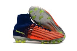 Wholesale Blackout Soccer Cleats - 2018 Latest Ace 16+ Pure Control FG - CR7 Mercurial Superfly Blackout Football Boots Designer Shoes Best Soccer Cleats Mens Shoes