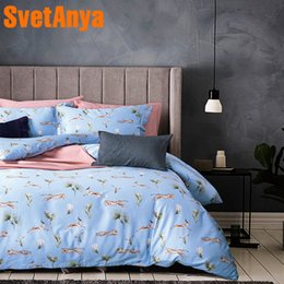 Wholesale Egyptian Cotton Sets - Svetanya Leopard Print Bedding Sets Egyptian Cotton Bedsheet Pillowcases Duvet cover set Twin Queen King Double Size