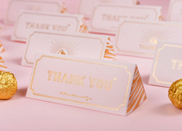 Wholesale Triangle Favour Box - European Style Creative Triangle Candy Box 2018 Thank You Wedding Supplies Event Party Supplies Wedding Favours Candy Bag