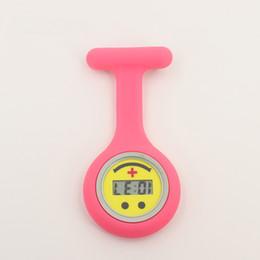 Taschenuhr online-Fabrik Großhandelspreis Digitale Tasche Krankenschwester Uhr Digital Quarzwerk Silikonband Krankenhausarzt Medizinische Geschenk Uhr