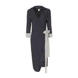 Wholesale Elegant Black Stripes Dress - Women Dresses Autumn Winter Sexy Plus Size Dress In Elegant Black V Neck Color Belt Stripe Work Business Casual Party Pencil Dress