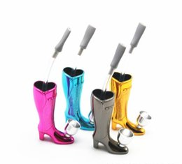 Wholesale Products Boots - New products, creative personality, high boots, modeling pipes, multicolored fashion.