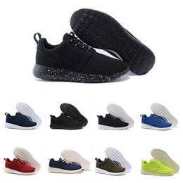 Wholesale Top High Cut Sneakers - Top Quality Men Women Running Shoes Green Black Classical London Running Shoes High Quality Olympic Sneaker EUR 36-45