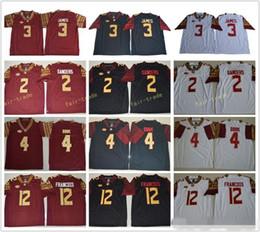 NCAA Florida State Seminoles 2 Deion Sanders Jersey Men College Football 3  Derwin James 4 Dalvin Cook 5 Jameis Winston 12 Deondre Francois 67f02be43