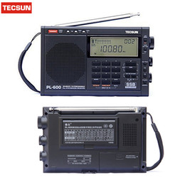 ssb radios Rabatt Retail-WholesaleTecsun pl600 FM Radio Stereo pl-600 fm Funkuhr Digital Receiver SSB Digital Demodulation