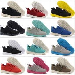 Wholesale Golf Shoes Size - Wholesale Cheap Athletic Running Shoes Men 2018 High quality Olympic London Sneakers Sport Shoes Free Shipping Size 7-10
